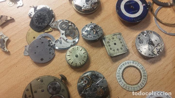 Relojes de pulsera: Gran colección de maquinas de reloj o relojes antiguos muy botitos, para reparar o para piezas... - Foto 100 - 103250643