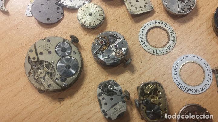Relojes de pulsera: Gran colección de maquinas de reloj o relojes antiguos muy botitos, para reparar o para piezas... - Foto 101 - 103250643