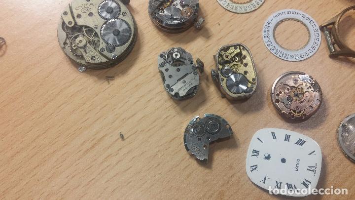 Relojes de pulsera: Gran colección de maquinas de reloj o relojes antiguos muy botitos, para reparar o para piezas... - Foto 102 - 103250643