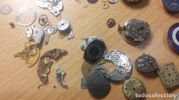 Relojes de pulsera: Gran colección de maquinas de reloj o relojes antiguos muy botitos, para reparar o para piezas... - Foto 104 - 103250643
