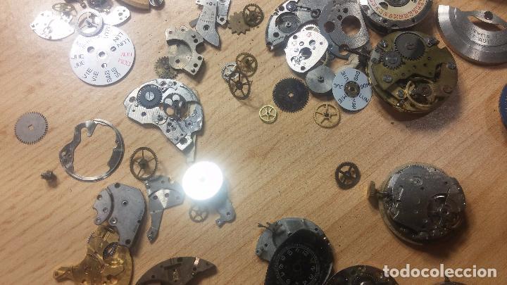Relojes de pulsera: Gran colección de maquinas de reloj o relojes antiguos muy botitos, para reparar o para piezas... - Foto 105 - 103250643