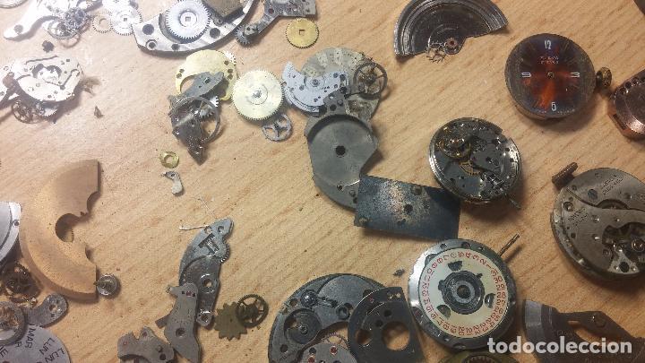 Relojes de pulsera: Gran colección de maquinas de reloj o relojes antiguos muy botitos, para reparar o para piezas... - Foto 107 - 103250643