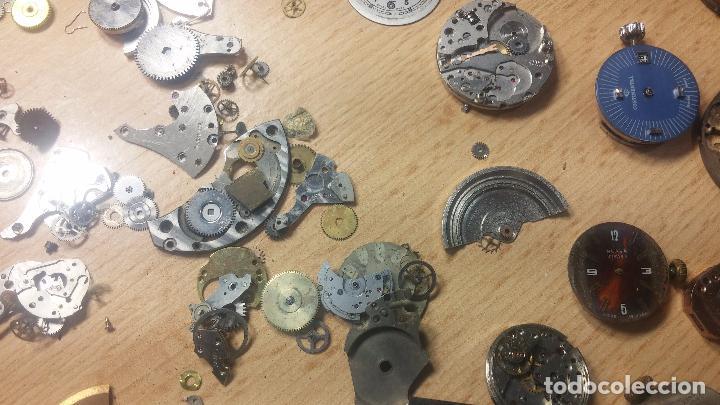 Relojes de pulsera: Gran colección de maquinas de reloj o relojes antiguos muy botitos, para reparar o para piezas... - Foto 108 - 103250643