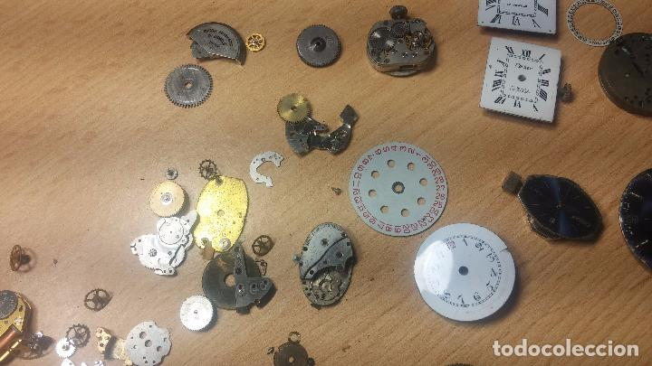 Relojes de pulsera: Gran colección de maquinas de reloj o relojes antiguos muy botitos, para reparar o para piezas... - Foto 111 - 103250643