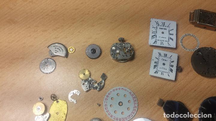 Relojes de pulsera: Gran colección de maquinas de reloj o relojes antiguos muy botitos, para reparar o para piezas... - Foto 112 - 103250643