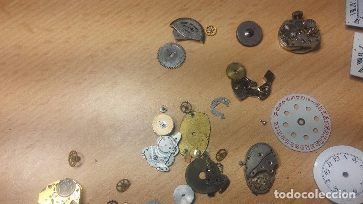 Relojes de pulsera: Gran colección de maquinas de reloj o relojes antiguos muy botitos, para reparar o para piezas... - Foto 113 - 103250643