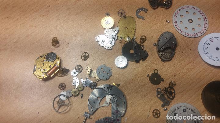 Relojes de pulsera: Gran colección de maquinas de reloj o relojes antiguos muy botitos, para reparar o para piezas... - Foto 114 - 103250643