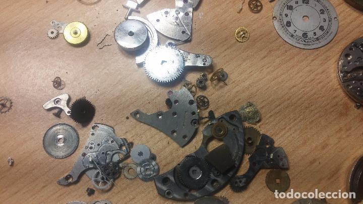 Relojes de pulsera: Gran colección de maquinas de reloj o relojes antiguos muy botitos, para reparar o para piezas... - Foto 116 - 103250643
