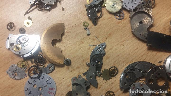 Relojes de pulsera: Gran colección de maquinas de reloj o relojes antiguos muy botitos, para reparar o para piezas... - Foto 118 - 103250643