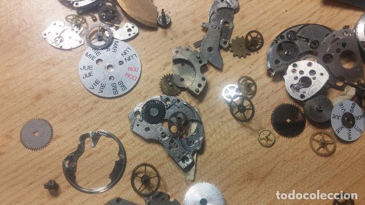 Relojes de pulsera: Gran colección de maquinas de reloj o relojes antiguos muy botitos, para reparar o para piezas... - Foto 119 - 103250643