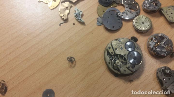 Relojes de pulsera: Gran colección de maquinas de reloj o relojes antiguos muy botitos, para reparar o para piezas... - Foto 120 - 103250643