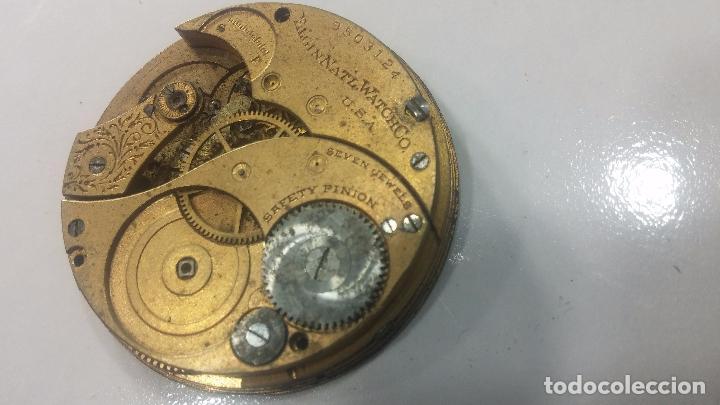 Relojes de pulsera: Gran colección de maquinas de reloj o relojes antiguos muy botitos, para reparar o para piezas... - Foto 131 - 103250643