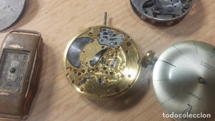 Relojes de pulsera: Gran colección de maquinas de reloj o relojes antiguos muy botitos, para reparar o para piezas... - Foto 139 - 103250643