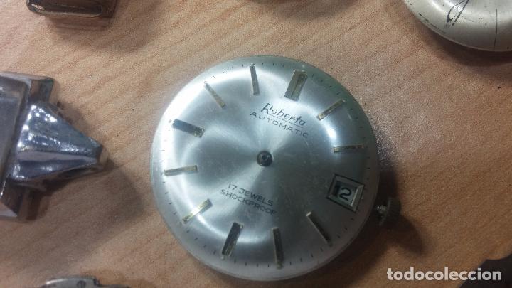 Relojes de pulsera: Gran colección de maquinas de reloj o relojes antiguos muy botitos, para reparar o para piezas... - Foto 140 - 103250643