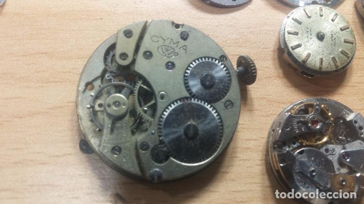 Relojes de pulsera: Gran colección de maquinas de reloj o relojes antiguos muy botitos, para reparar o para piezas... - Foto 142 - 103250643