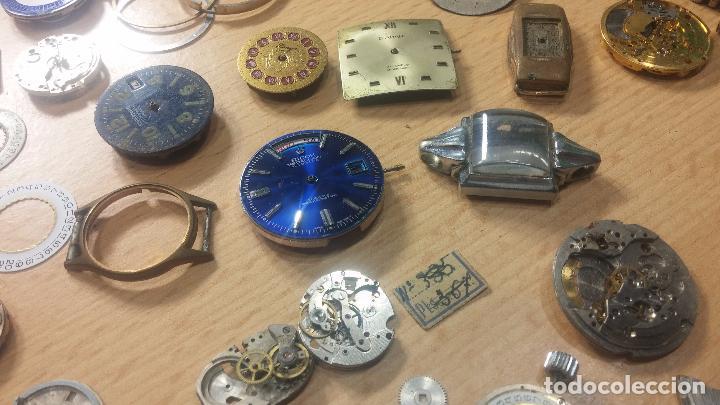 Relojes de pulsera: Gran colección de maquinas de reloj o relojes antiguos muy botitos, para reparar o para piezas... - Foto 156 - 103250643