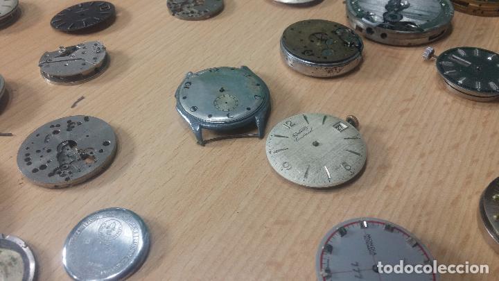 Relojes de pulsera: Gran colección de maquinas de reloj o relojes antiguos muy botitos, para reparar o para piezas... - Foto 157 - 103250643