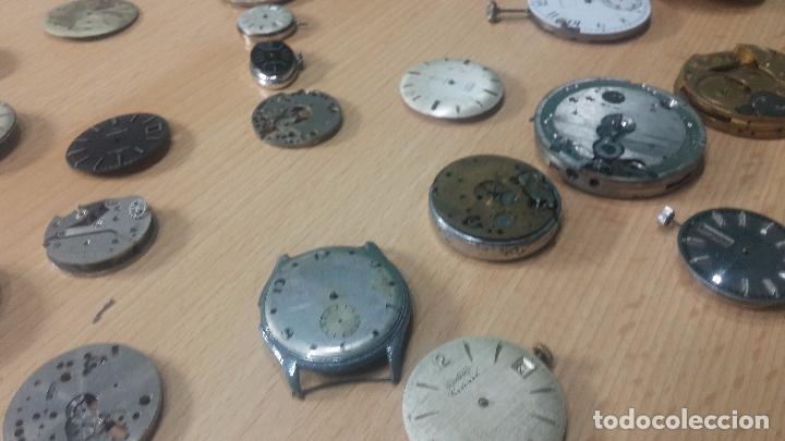 Relojes de pulsera: Gran colección de maquinas de reloj o relojes antiguos muy botitos, para reparar o para piezas... - Foto 158 - 103250643