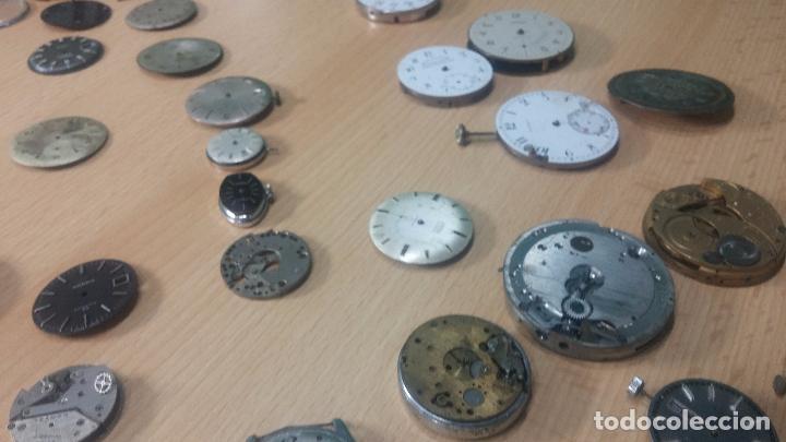 Relojes de pulsera: Gran colección de maquinas de reloj o relojes antiguos muy botitos, para reparar o para piezas... - Foto 159 - 103250643