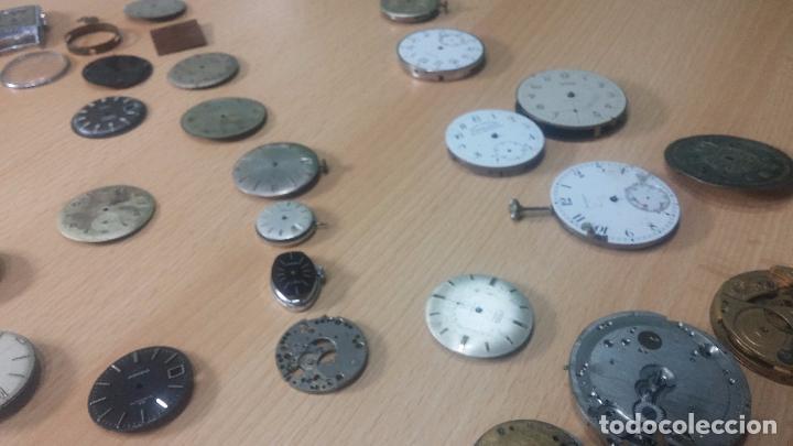 Relojes de pulsera: Gran colección de maquinas de reloj o relojes antiguos muy botitos, para reparar o para piezas... - Foto 160 - 103250643