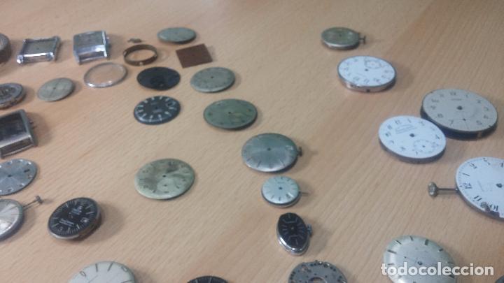 Relojes de pulsera: Gran colección de maquinas de reloj o relojes antiguos muy botitos, para reparar o para piezas... - Foto 161 - 103250643