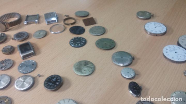 Relojes de pulsera: Gran colección de maquinas de reloj o relojes antiguos muy botitos, para reparar o para piezas... - Foto 162 - 103250643