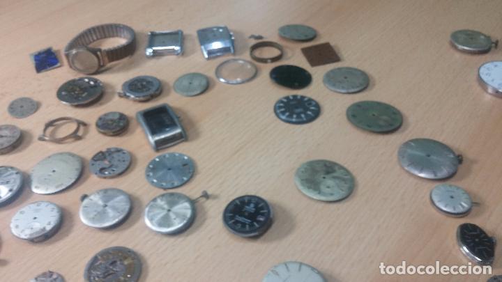 Relojes de pulsera: Gran colección de maquinas de reloj o relojes antiguos muy botitos, para reparar o para piezas... - Foto 163 - 103250643