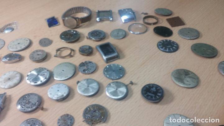 Relojes de pulsera: Gran colección de maquinas de reloj o relojes antiguos muy botitos, para reparar o para piezas... - Foto 164 - 103250643