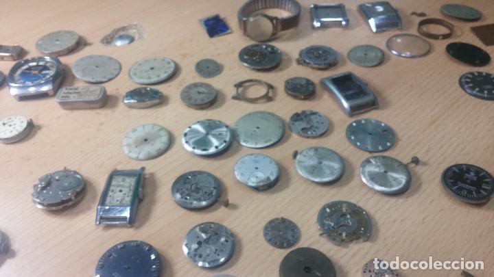 Relojes de pulsera: Gran colección de maquinas de reloj o relojes antiguos muy botitos, para reparar o para piezas... - Foto 165 - 103250643