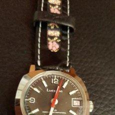 Relojes de pulsera: RELOJ SWSS LUCERNE UMBRECABLE HAISPRIN CALENDARIO. Lote 103492027