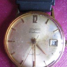 Relojes de pulsera: RELOJ DE PULSERA DUWARD DIPLOMATIC DE CABALLERO CON CUERDA . ANTIGUO FUNCIONA ORO BAÑADO. Lote 104373095
