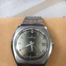 Relojes de pulsera: RELOJ RADIANT BLUMAR CARGA MANUAL. Lote 104406574