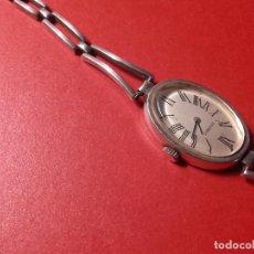 Relojes de pulsera: RELOJ PLATA DUGENA. Lote 104455139