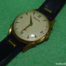 Relojes de pulsera: FANTASTICO RELOJ HELVETIA SWISS MADE CALIBRE H64 O DUGENA 596 AÑOS 50 17 RUBIS RARO GRAN TAMAÑO. Lote 104763879
