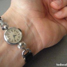 Relojes de pulsera: UNIVERSAL GENEVE REVERSE, 1950, P245A. Lote 104773547