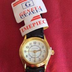 Relojes de pulsera: RELOJ AÑOS 70/80 GENEVA CHAPADO EN ORO. Lote 104827864