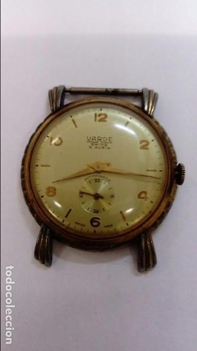 RELOJ VARDE (Relojes - Pulsera Carga Manual)