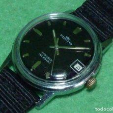 Relojes de pulsera: ELEGANTE RELOJ FORTIS SWISS MADE CUERDA MANUAL 17 RUBIS AÑOS 70 RARO VINTAGE FECHA COLECCIÓN. Lote 105014935