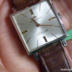 Relojes de pulsera: HERMOSO RELOJ MOVADO SILHOUETTE 17 RUBIS CALIBRE 245 UNIVERSAL GENEVE 820 AÑOS 60 COLECCIÓN VINTAGE. Lote 105016183