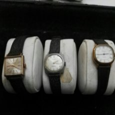 Relojes de pulsera: LOTE RELOJES ANTIGUOS CUERDA MANUAL MUJER. Lote 105187423