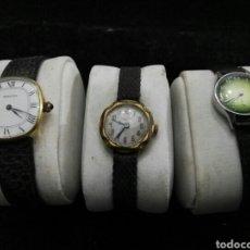 Relojes de pulsera: LOTE RELOJES ANTIGUOS DE CUERDA DE MUJER. Lote 105188227