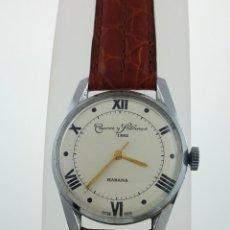 Relojes de pulsera: CUERVO Y SOBRINOS VINTAGE AÑOS 50. Lote 105225419
