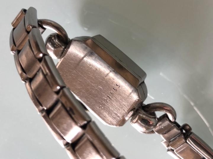 Relojes de pulsera: RELOJ MUJER ETERNA ESTILO DECO SWISS MADE CAJA Y ARMIS ACERO AÑOS 30 FUNCIONA PERFECTAMENTE - Foto 4 - 105661711