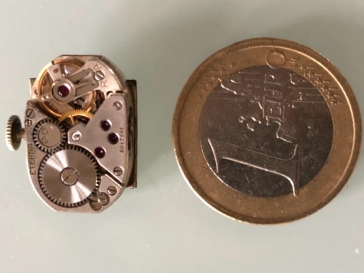 Relojes de pulsera: RELOJ MUJER ETERNA ESTILO DECO SWISS MADE CAJA Y ARMIS ACERO AÑOS 30 FUNCIONA PERFECTAMENTE - Foto 12 - 105661711
