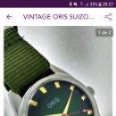 Relojes de pulsera: RELOJ DE PULSERA CARGA MANUAL ORIS 17 JEWELLS FUNCIONA.. Lote 159763225