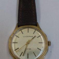 Relojes de pulsera: RELOJ LUCERNE. Lote 246471960