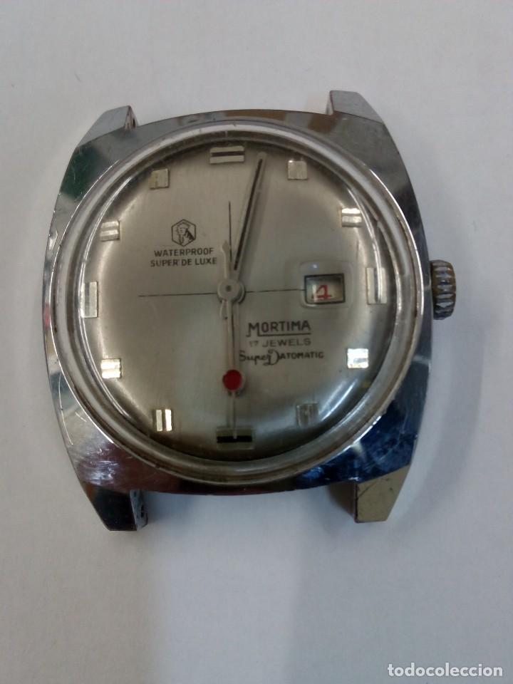 RELOJ MORTIMA SÚPER DATOMATIC (Relojes - Pulsera Carga Manual)