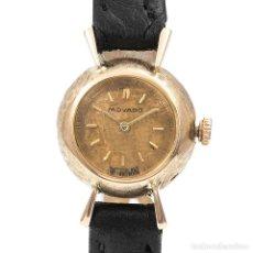Relojes de pulsera: RELOJ MOVADO DE SEÑORA EN ORO AMARILLO DE 18KT. MOVIMIENTO MECÁNICO DE CUERDA.. Lote 106163095