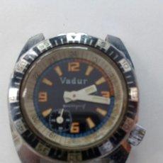 Relojes de pulsera: RELOJ TIPO BUCEO TAMAÑO CADETE VADUR DIVERS. Lote 106176851