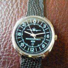 Relojes de pulsera: SERIE AVIACION ALEMANA II GUERRA MUNDIAL - MESSERSCHMITT 262 - 24 HORAS DE MARCACION -ORIGINAL-. Lote 114113639